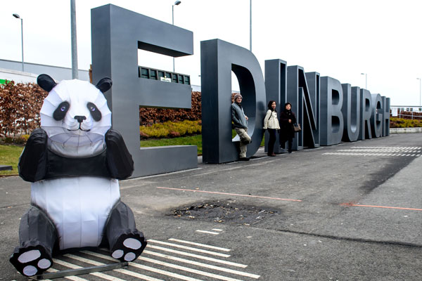 First direct air link to China touches down in Edinburgh