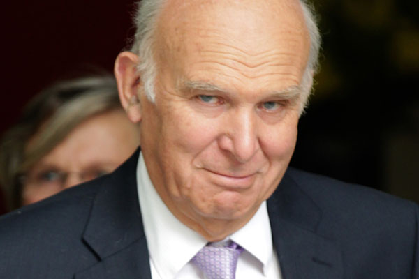More 'black swan' events possible, Vince Cable warns Aito conference