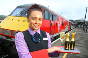 Prosecco on the menu for Virgin Trains East Coast passengers