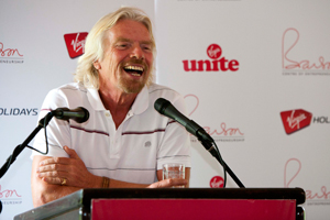 Branson leads poll of travel's top names