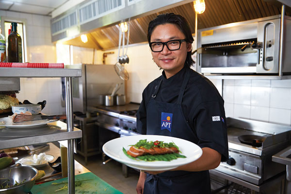 Win a cooking class with APT and celebrity chef Luke Nguyen