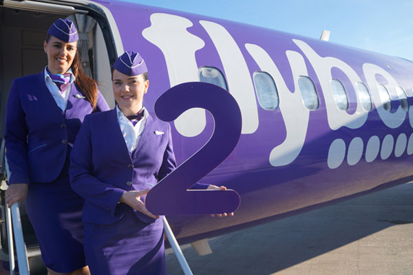 Flybe unveils London City-Dusseldorf route