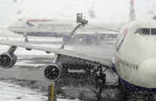 Timeline: How snow has hit UK flights, 1991 – 2009