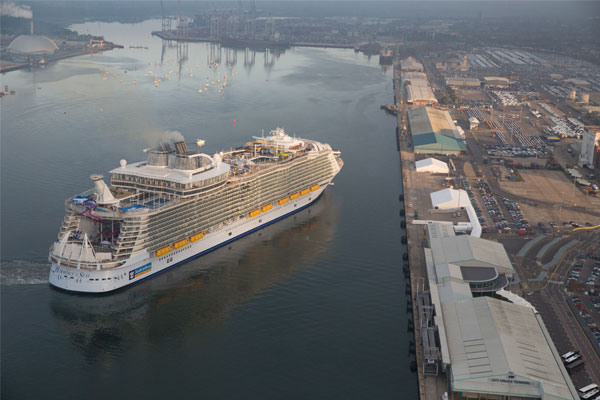 UK vying with US and China over next Royal Caribbean ship