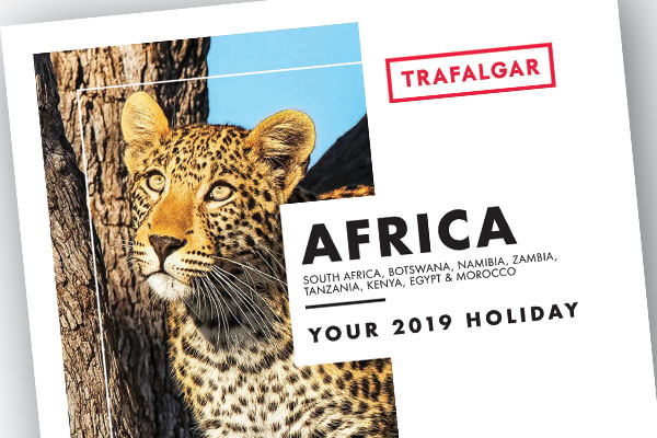 Trafalgar offers 10 tours in debut Africa brochure