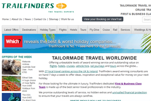 Trailfinders tops Which? list of best holiday companies