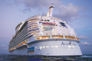 Allure of the Seas to be based in Europe for first time