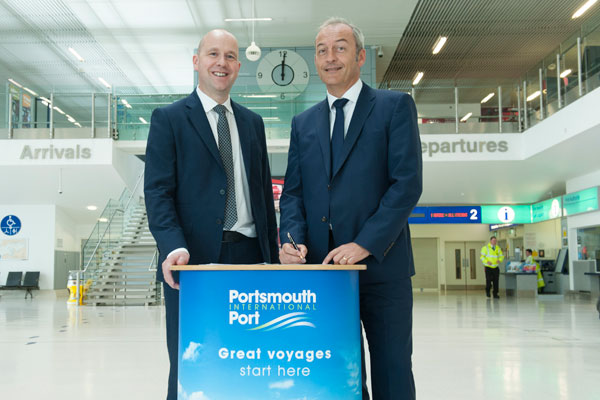 Brittany Ferries makes 10-year Portsmouth commitment