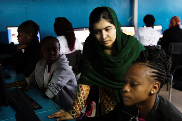 Malala Yousafzai named as godmother of new Celebrity ship