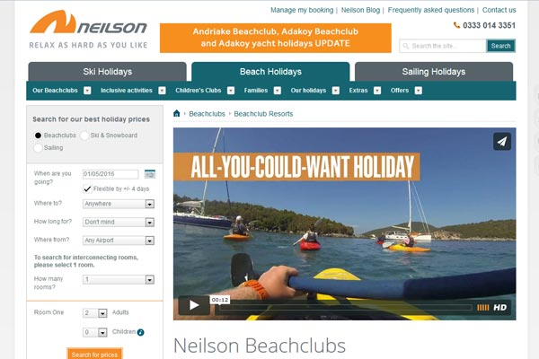 Neilson to drop two Turkey Beachclubs this summer