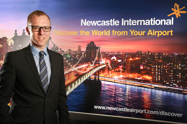 Newcastle airport confirms Nick Jones as chief executive