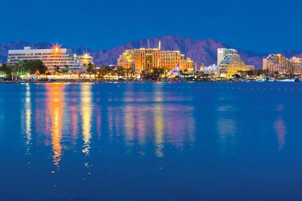Eilat, Israel: Desert city on the Red Sea