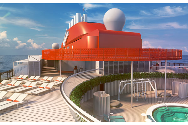 Virgin Voyages reveals health and well-being features on first ship