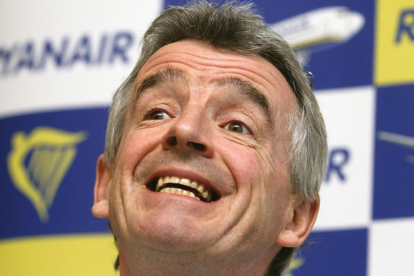 Ryanair's O'Leary left speechless after Grand National win