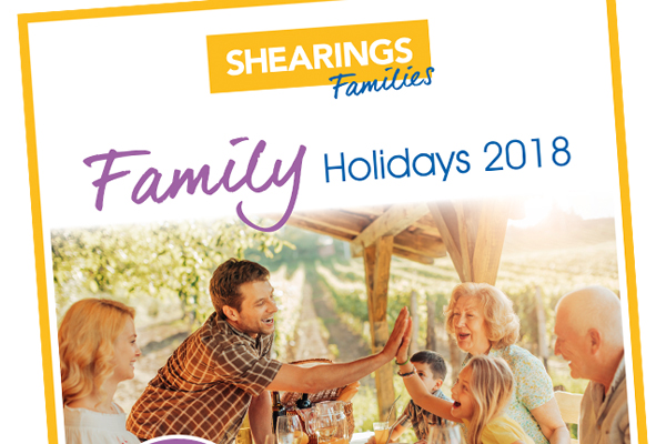 Shearings unveils brochure catering to family market