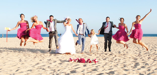 Weddings: Beach brides