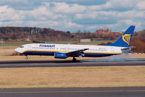 Ryanair imposes carbon trading levy