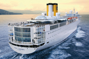 Costa Allegra reaches the Seychelles