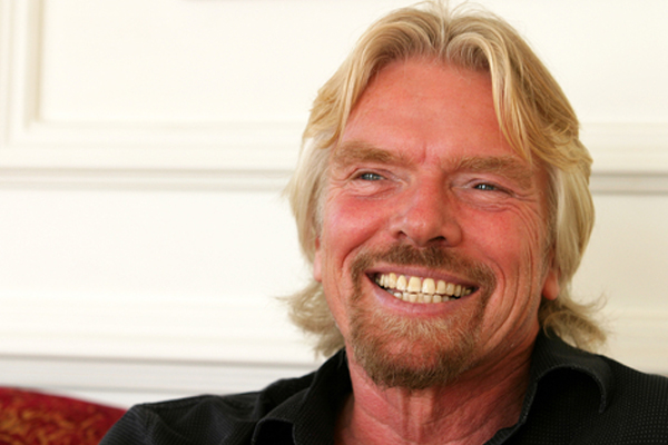 Sir Richard Branson tops travel's 'rich list'