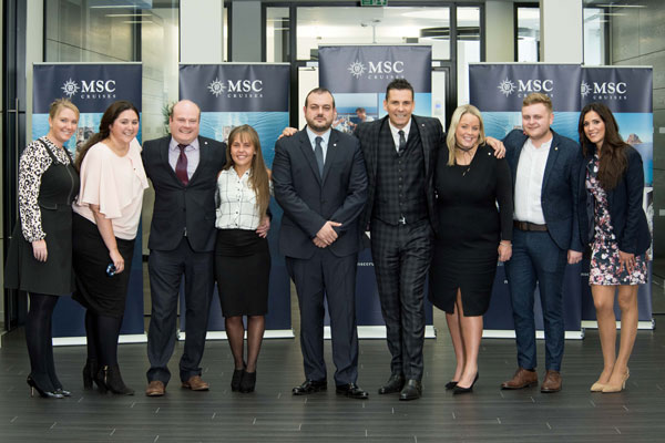 MSC offers agents chance to win place at new ship launch