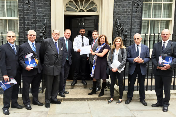 Gatwick residents raise concerns at Downing Street