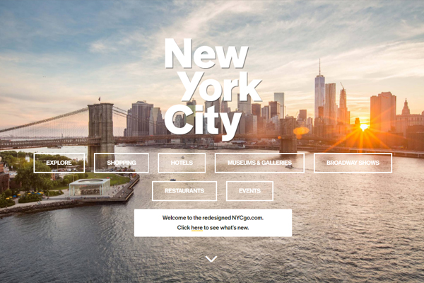 New York unveils new branding and destination marketing