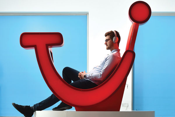 Tui smile chair is 'future of travel'