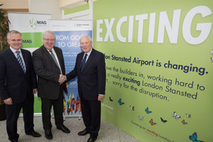 Stansted announces £80m transformation