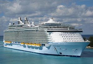 World's largest cruise ship to make UK call in 2014