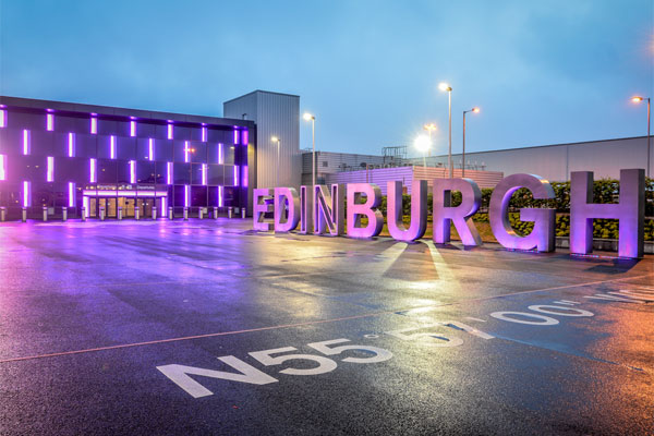 Edinburgh airport sees busiest April on record