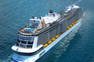 Anthem of the Seas to leave UK after maiden season