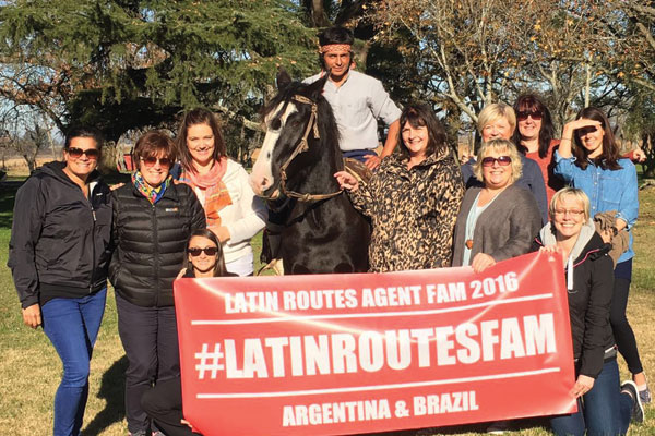 Agent books £42k holiday after Latin Routes fam trip