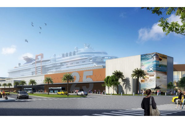Celebrity Cruises unveils plans for dedicated Florida cruise terminal