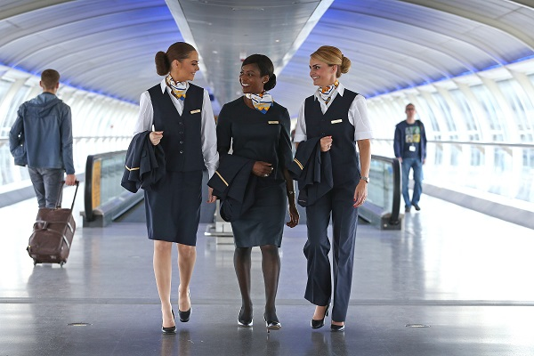 Thomas Cook Airlines reveals new uniform with flashmob