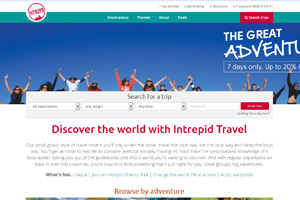 Intrepid aims to double UK sales after split from Tui