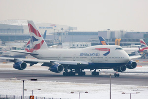 Heathrow January numbers up despite snow disruption