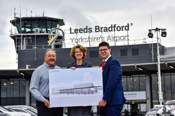 Yorkshire airport reveals multi-million pound terminal expansion