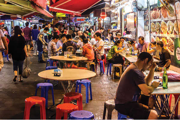 Foodie tours in Asia
