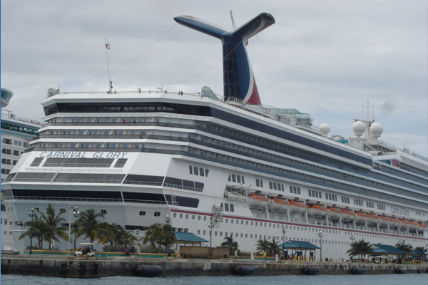Child dies after fall in cruise ship atrium