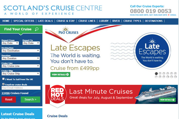 Scotland's Cruise Centre to double staff numbers