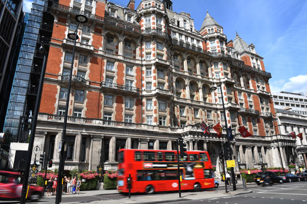 Mandarin Oriental Hyde Park guests urged to seek alternative hotels after fire