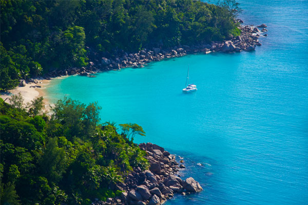 Island-hopping in the Seychelles