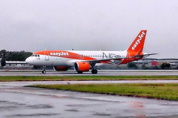 Nazi salute easyJet passenger jailed for assault on pilot