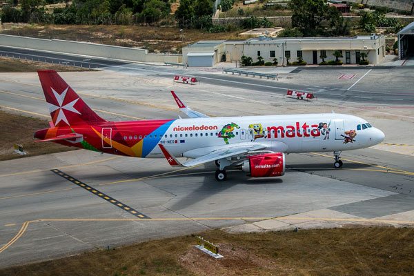 Air Malta introduces new Airbus A320neo to fleet