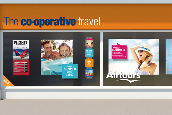 Thomas Cook to align Airtours with Co-op and independent agents