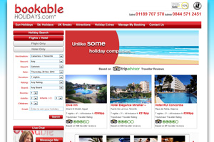 Travel Up revamps sites and makes Bookable sales fully protected