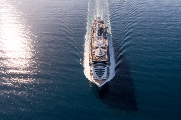 MSC Cruises names new ship with world-renowned star's help