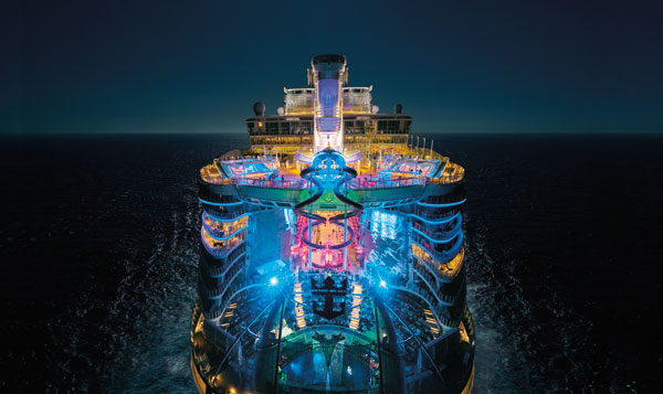 Royal Caribbean to increase ultimate family suite capacity on fifth Oasis-class vessel