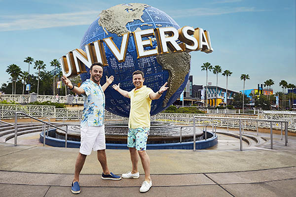 Universal Orlando Resort to host live finale of Ant & Dec's Saturday Night Takeaway