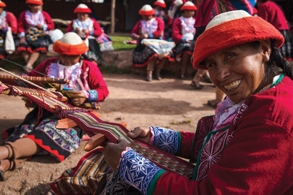 Escorted tours in Peru